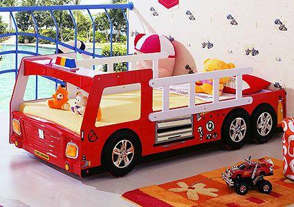 Пожарная машина (кровать-машина) Milli Willi
