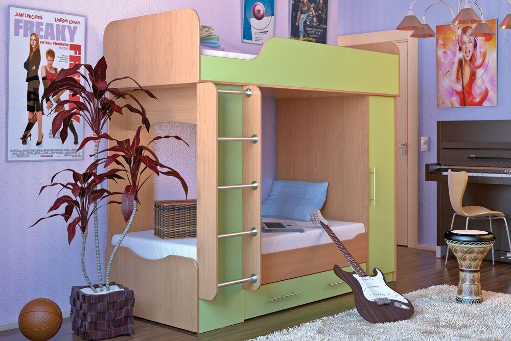 Двухъярусная кровать Дуэт 2
